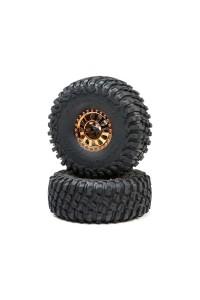 Losi kolo s pneu BFG, měď (2): Lasernut U4