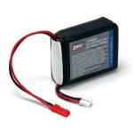 Baterie LiPol 7.4V 2000mAh 2články: Rx 1:8