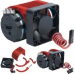 Radical Motor chladič + větráček - červený (NOSRAM)
