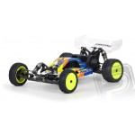 BullDog čirá karoserie v konfiguraci pro střed. motoru, TLR Losi 22