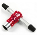 Klíč na kola 17mm + chcípátko - červený