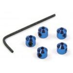 Vymezovací sloupky táhel - Modré (5ks)