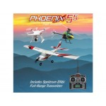 Phoenix RC Pro V5.5 simulátor + D6i Mód 1-2