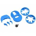 M12/M12S plastové díly (modré)