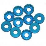 3 MM. ALU. podložky modré (10 ks.)