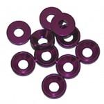 3 MM. ALU. podložky fialové (10 ks.)