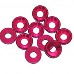 3 MM. ALU. podložky růžové (10 ks.)