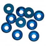 4 MM. ALU. podložky modré (10 ks.)
