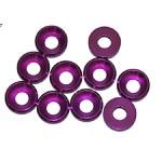 4 MM. ALU. podložky fialové (10 ks.)