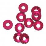4 MM. ALU. podložky růžové (10 ks.)