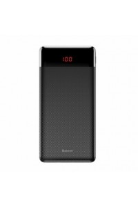 Mini Cu Digital Display Power Bank 10000mAh(Black)