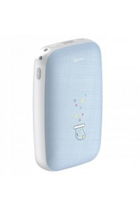 Mini Q Hand Warmer Power Bank 10000mAh (Blue)