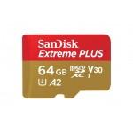 SanDisk MicroSDXC 64GB Extreme A2 UHS-I (V30) U3 + SD adaptér