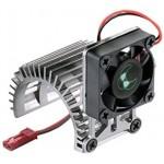 ALU chladič motoru 540 s ventilátorem 30x30mm