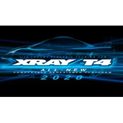 XRAY T4'20 - GRAPHITE EDITION - 1/10 LUXURY ELECTRIC TC
