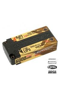 Sunpadow 7.6V 2S HV 6000mAh 100C/50C Shorty LiPo Battery