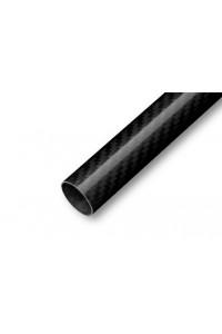 Uhlíková trubka Pletená 22/21mm 1m
