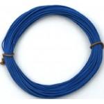 Kabel silikon 2.5mm2 1m (modrý)