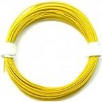 Kabel silikon 2.5mm2 1m (žlutý)