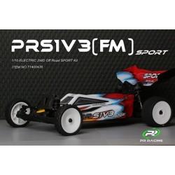 PRS1V3 (FM) Sport 1/10 - 2WD Off Road Buggy  Kit (planetový diferenciál)