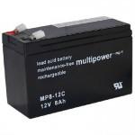 Pb akumulátor MULTIPOWER 12V/10,0Ah