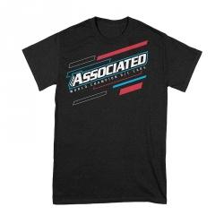 ASSOCIATED WC21 tričko černé, velikost XL
