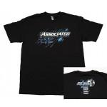 ASSOCIATED 2017 tričko černé, velikost 2XL