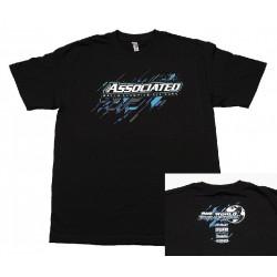 ASSOCIATED 2017 tričko černé, velikost 5XL