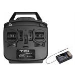 Futaba T6L Sport 2.4GHz mód 1, R3106GF