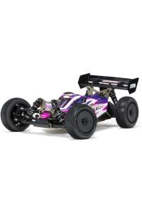 RC auto Arrma Typhon TLR Tuned 1:8 4WD Roller Buggy růžová/fialová