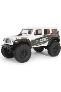 RC auto Axial SCX24 Jeep Wrangler JLU CRC 2019 1:24 4WD RTR - Bílá