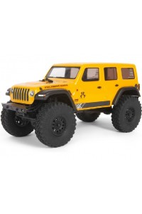 RC auto Axial SCX24 Jeep Wrangler JLU CRC 2019 1:24 4WD RTR - ŽLUTÁ