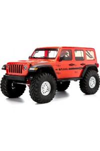 RC auto Axial SCX10 III Jeep JLU Wrangler 1:10 4WD RTR - červený