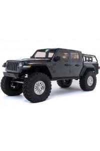 RC auto Axial SCX10 III Jeep JT Gladiator 4WD 1:10 RTR - šedá