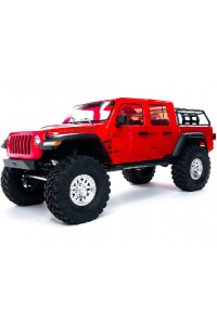 RC auto Axial SCX10 III Jeep JT Gladiator 4WD 1:10 RTR - červená