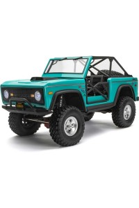 Axial SCX10 III Early Ford Bronco 4WD 1:10  - Tyrkysová