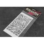 BittyDesign maskovací předlohy - Zebra
