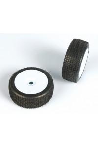 ENFORCER (medium směs) Off-Road 1:8 Buggy gumy nalep. na bílých disk. (2ks.)