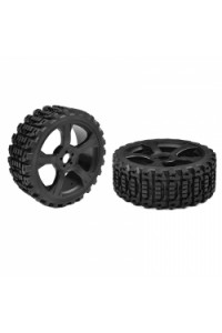 Off-Road 1/8 Buggy gumy - Xprit - Low Profile - nalepené na čern