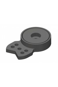 Servo Saver - HD velký - 23-24-25 zubů - úzký konec, 3mm díry