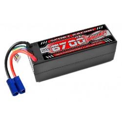 Sport Racing 50C - 6700mAh - 4S - 14,8V - EC5 - Hardcase