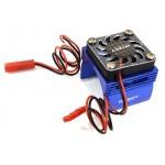 ALU chladič pro motory 540/550 (36mm) s ventilátorem