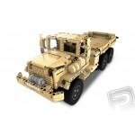 Vojenský vůz - RC stavebnice z kostek