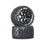 """Duratrax kolo 2.8"""" Six Pack MT 2WD zadní C2 černá (2)"""