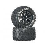"Duratrax kolo 2.8"" Six Pack MT 2WD 1/2"" Offset černá (2)"