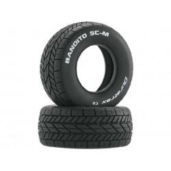 Duratrax pneu Bandito SC-M Oval C2 (2)