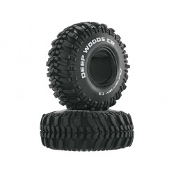 "Duratrax pneu 1.9"" Deep Woods CR Crawler C3 (2)"