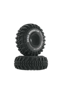 "Duratrax pneu 2.2"" Deep Woods CR Crawler C3 (2)"
