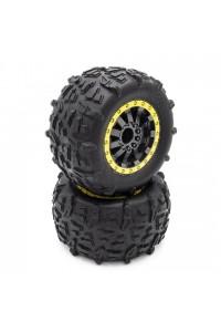 STX - kompletní gumy, nalepené, 2 ks