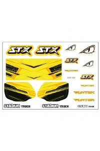 STX - nálepky